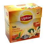 Té Vainilla Lipton    Caja 20 Saquitos