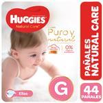 Pañal HUGGIES Natural Care Ellas Gx44