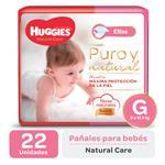 Pañal HUGGIES Natural Care Ellas Gx22
