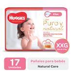 Pañal HUGGIES Natural Care Ellas Xxgx17