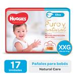 Pañal HUGGIES Natural Care Ellos Xxgx17