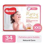 Pañal HUGGIES Natural Care Ellas Xxgx34