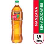 Agua Saborizada AQUARIUS CERO Light Manzana Botella 1.5 L