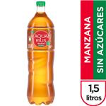 Agua Saborizada  AQUARIUS CERO Light Manzana Botella 1.5 L