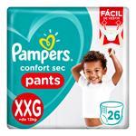 "Pañales PAMPERS Confort Sec Pants ""XXG"" 26 Unidades"