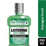 Enjuague Bucal LISTERINE Anticaries Botella 250 Ml