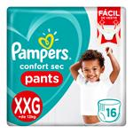 "Pañales  PAMPERS Confort Sec   ""XXG"" 16 Unidades"