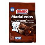 Madalenas Chocolate Rell Bimbo Bol 250 Grm