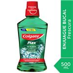 Enjuague Bucal Colgate Plax Ice Glacial Botella 500 Ml