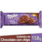 Gall.Dulces Choco Cookies Milka Paq 158 Grm