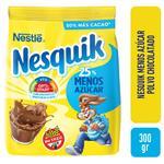 Cacao NESQUIK Menos Azucar Bolsa 300 Gr
