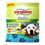 Paño Microfibra Mascotas Virulana Paq 1 Uni