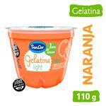 Gelatina Light Naranja Sancor Pot 110 Grm
