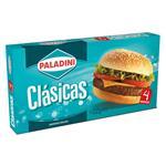 Hamburguesa Clasicas Paladini Cja 332 Grm