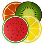 Individual Summer Frutas Redondo 38 Cm . . .