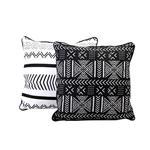 Almohadon Black&White 45x45 Cm . . .