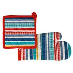 Set Man. Y Aga Mex Stripes 18x32/20x20 Cm . . .