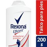 Talco Para Pies REXONA Efficient Anibacterial 200 Gr