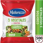 Coditos Matarazzo  3 Vegetales  Paquete 500 Gr