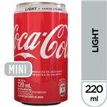 Gaseosa COCA COLA Light   Lata 220 Cc