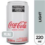 Gaseosa COCA COLA Light   Lata 220 Cc