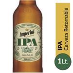Cerveza Ipa IMPERIAL   Botella 1 L