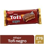 Alfajor Chocolate X6 TOFI Fwp 276 Grm