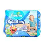 Pañales  PAMPERS Splashers   (AJUSTABLES) 7-15 KG 24 Unidades
