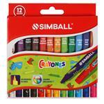 Crayones Simball  12 Unidades