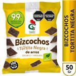 Arroz Tortita Negra Gallo Snack Paq 50 Grm