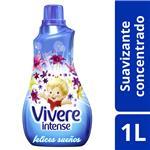 Enjuague Para Ropa VIVERE Concentrado Felices Sueños Intense Botella 1 L