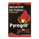 Pastillas Caja X 12 Un. Pyrogrill Cja 1 Uni