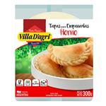 Tapas De Empanada Hojaldre Villa Dagri Paquete 300 Gr