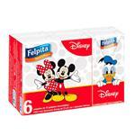 Pañuelos Descartab Disney 6x10 Felpita Paq 6 Uni