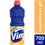 Lavandina En Gel VIM   Citrus   Botella 700 Ml