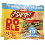 Medallon Doble Burger X Swift Fwp 224 Grm