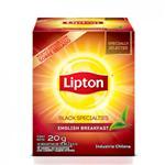Te Negro Sabor Intenso Lipton Est 20 Grm