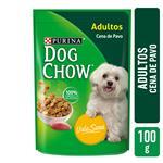 Alimento En Sobre Adultos PURINA DOG CHOW 100 Gr Pavo
