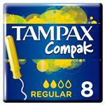 Tampones Regular TAMPAX Cja 8 Uni