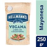 Mayonesa Vegana Hellmanns Pou 250 Grm