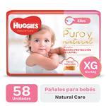 Pañal HUGGIES Natural Care Ellas Xgx58