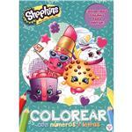 Shopkins - Colorear Con Números Y Letras
