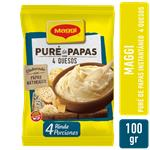 Pure De Papas 4 Quesos MAGGI Bsa 100 Grm
