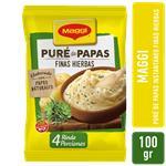 Pure De Papas Finas Hierbas MAGGI Bsa 100 Grm