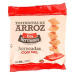 Tostaditas De Arroz,Horne Dos Hnos. Paq 60 Grm
